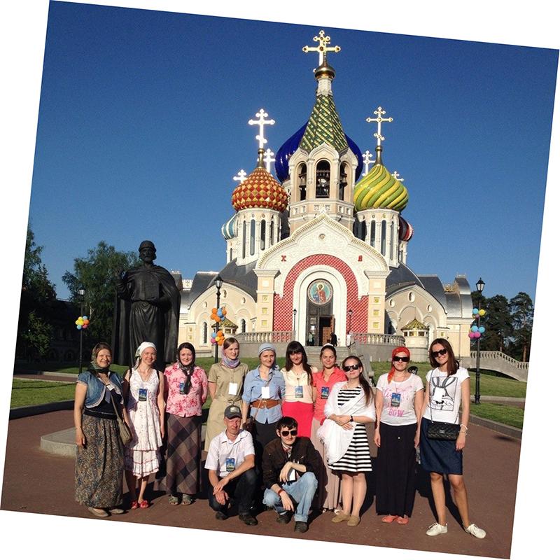 В гостях у Патриарха в Переделкино